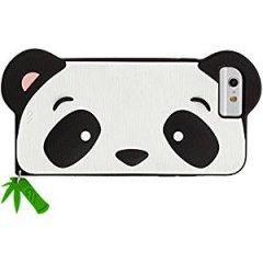 【iPhone6s/6 ケース かわいいパンダ】 iPhone6s/6 CREATURES: Panda Case クリーチャーズ: パンダ シリコン ケース