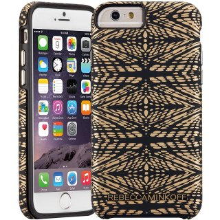 【iPhone6s/6 ケース レベッカ・ミンコフ】 iPhone6s/6 Hybrid Tough Print REBECCA MINKOFF Mirror Images