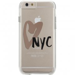 【iPhone6s/6 ケース デザイン・プリント】 iPhone6s/6 Hybrid Naked Tough City Print I HEART NYC Print