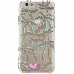 【iPhone6s/6 ケース デザイン・プリント】 iPhone6s/6 Hybrid Naked Tough City Print Miami Palm