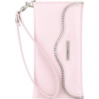 【iPhone6s/6 ケース レベッカ・ミンコフ】 iPhone6s/6 REBECCA MINKOFF Leather Folio Wristlet Pale Pink