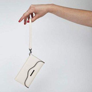 【iPhone6s/6 ケース レベッカ・ミンコフ】 iPhone6s/6 REBECCA MINKOFF Leather Folio Wristlet  Sand