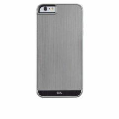 【iPhone6s Plus/6 Plus 高級感溢れる金属調ケース】 iPhone 6s Plus/6 Plus Brushed Alminum Case Gunmetal / Black