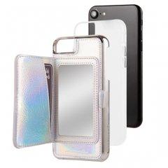 【コンパクトミラー付き 手鏡いらずのiPhoneケース】 iPhone SE(第2世代/2020年発売) / 8/7/6s/6 Compact Mirror Case−Iridescent