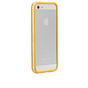 【さりげなく守るフレームスタイルケース】 iPhone SE/5s/5 Hula Yellow フレームスタイルケース フラ イエロー