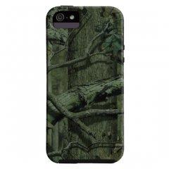 【森林迷彩模様のケース】 iPhone SE/5s/5 Hybrid Tough Case Mossy Oak / Black