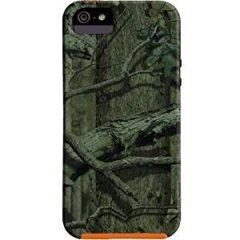 【森林迷彩模様のケース】 iPhone SE/5s/5 Hybrid Tough Case Mossy Oak / Orange