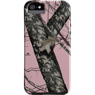 【森林迷彩模様のケース】 iPhone SE/5s/5 Hybrid Tough Case Mossy Oak / Pink