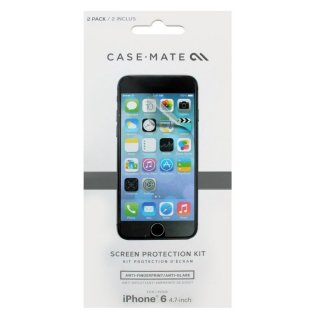 【お得な2枚入液晶保護フィルム】iPhone6s/6 スクリーンプロテクター 2枚入り 液晶保護フィルム クリーングクロス付き