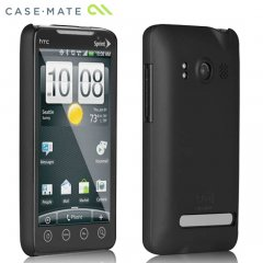 【スリムなハードケース】 au HTC EVO WiMAX ISW11HT Barely There Case Matte Black