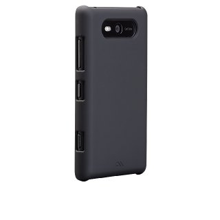 【スリムなハードケース】 Nokia Lumia 820 Barely There Case Matte Black