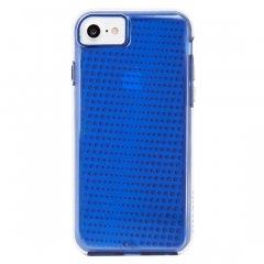 【 2層構造のクリアータイプ】  iPhone SE(第2世代/2020年発売) / 8/7/6s/6 Hybrid Tough Translucent Case Clear / Blue