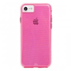 【 2層構造のクリアータイプ】  iPhone SE(第2世代/2020年発売) / 8/7/6s/6 Hybrid Tough Translucent Case Clear / Pink