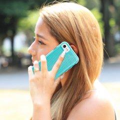 【 2層構造のクリアータイプ】  iPhone SE(第2世代/2020年発売) / 8/7/6s/6 Hybrid Tough Translucent Case Clear / Green