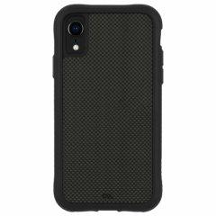 【純正カーボンファイバー素材を背面に使用】iPhoneXR Protection Collection-Carbon Fiber