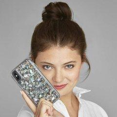 【本物の真珠貝を使用!美しく可愛いケース】iPhoneXS Max Karat-Pearl