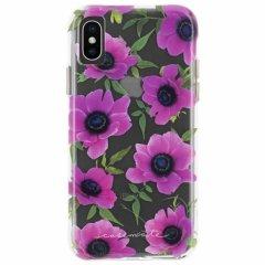 【大胆なプリントがインパクト大!】iPhoneXS Max Wallpapers-Pink Poppy