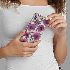 【大胆なプリントがインパクト大!】iPhoneXS/X Wallpapers-Pink Poppy