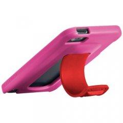 【ワンタッチでスタンドが飛び出すケース】 iPod touch 5th/6th Snap Case Lipstick Pink/Flame Red