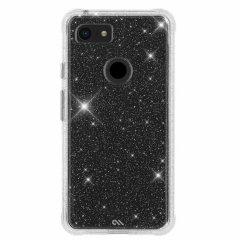 【クリスタルのきらめきが美しい】Google Pixel3 XL Sheer Crystal-Clear