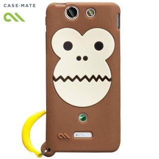 【かわいいサルのケース】 docomo Xperia SX SO-05D Creatures: Bubbles Monkey Case Brown