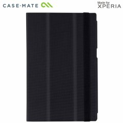 【スタンド機能付きスリムケース】 Xperia Z2 Tablet SOT21/SO-05F Slim Folio Case Black