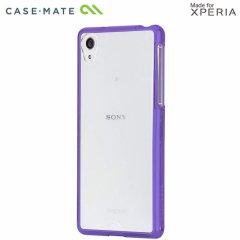 【衝撃に強いケース】 Sony Xperia Z2 docomo SO-03F Hybrid Tough Naked Case Clear/Purple