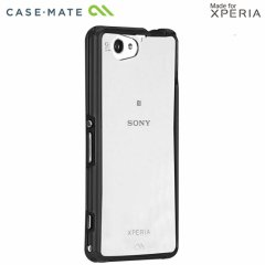 【衝撃に強いケース】 Sony Xperia A2 SO-04F/J1 Compact/Z1 f SO-02F Hybrid Tough Naked Case Clear/Black