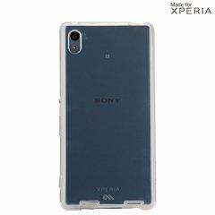 【卓上ホルダー対応の衝撃に強いケース】 Sony Xperia Z4 SO-03G/SOV31/402SO Hybrid Naked Tough Case Clear/Clear