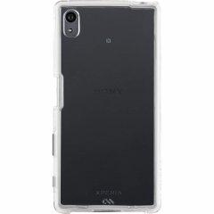 【卓上ホルダー対応の衝撃に強いケース】 Sony Xperia Z5 SO-01H/SOV32/501SO Hybrid Naked Tough Case Clear/Clear