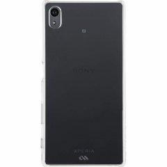 【卓上ホルダ対応 薄型ハードケース】 Sony Xperia Z5 SO-01H/SOV32/501SO Barely There Case Clear