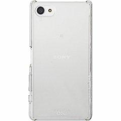 【卓上ホルダ対応 薄型ハードケース】 Sony Xperia Z5 Compact SO-02H Barely There Case Clear