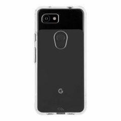 【スリムボディなのに耐衝撃性抜群!】 Google Pixel 3aXL Case - Tough - Clear