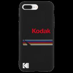 【Case-Mate×Kodak コラボ】  iPhone 8 Plus Case Kodak Matte Black + Shiny Black Logo