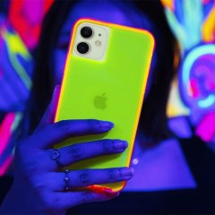 【ワールドワイドで大人気のネオンカラー】 iPhone 11 / 11 Pro / 11 Pro Max Case Tough NEON - Green/Pink