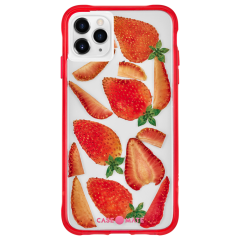 【本物のフルーツが入った、フルーツケース】 iPhone 11 / 11 Pro / 11 Pro Max Case Tough Juice - Summer Berries