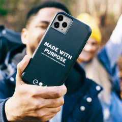 【iPhoneケースで地球にメッセージ】 iPhone 11 / 11 Pro / 11 Pro Max Case Eco94 Recycled Made With Purpose