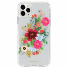 【 RIFLE PAPERとのコラボ】 iPhone 11 / 11 Pro / 11 Pro Max Case RIFLE PAPER - Wild Rose