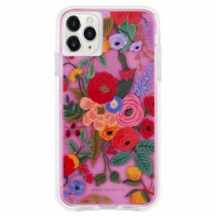 【 RIFLE PAPERとのコラボ】 iPhone 11 / 11 Pro / 11 Pro Max Case RIFLE PAPER - Garden Party - Blush