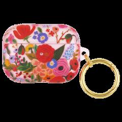 【コラボケース・AirPods Pro ケース・ワイヤレス充電OK】 AirPods PRO Rifle Paper Garden Party Blush w/Gold Circular Ring
