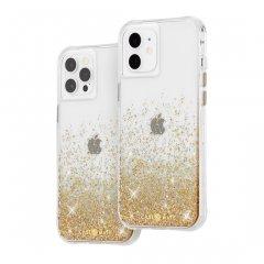 【金色に美しく輝く!+抗菌仕様】iPhone 12 / iPhone 12 Pro 共用 Twinkle Ombré - Gold w/ Micropel