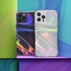 【シャボン玉をイメージした鮮やかさ+抗菌仕様】iPhone 12 / iPhone 12 Pro 共用 Soap Bubble w/ Micropel
