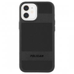 【Pelican × Case-Mate 抗菌仕様】iPhone 12 mini Pelican Protector - Black w/ Micropel