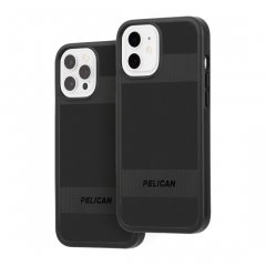 【Pelican × Case-Mate 抗菌仕様】iPhone 12 / iPhone 12 Pro 共用 Pelican Protector - Black w/ Micropel