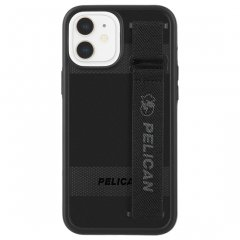 【Pelican × Case-Mate 抗菌仕様】iPhone 12 mini Pelican Protector Sling - Black w/ Micropel