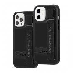 【Pelican × Case-Mate 抗菌仕様】iPhone 12 / iPhone 12 Pro 共用 Pelican Protector Sling - Black w/ Micropel