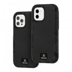 【Pelican×Case-Mate 抗菌仕様】iPhone12/iPhone12 Pro 共用 Pelican Shield-Camo Green G10 w/Micropel ホルスターセット