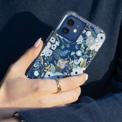 【RIFLE PAPER × Case-Mate】iPhone 12 mini RIFLE PAPER - Garden Party Blue w/ Micropel