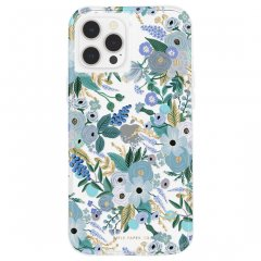 【RIFLE PAPER × Case-Mate】iPhone 12 Pro Max RIFLE PAPER - Garden Party Blue w/ Micropel