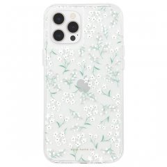 【RIFLE PAPER × Case-Mate】iPhone12/iPhone12 Pro 共用 RIFLE PAPER - Embellished Petite Fleurs w/Micropel